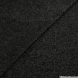 Maille polyester flammée noir
