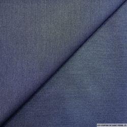 Polycoton élasthane effet jeans