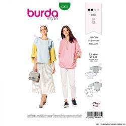 Patron Burda n°6203 : Sweatshirt