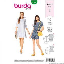 Patron Burda n°6208 : Robe