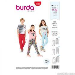 Patron Burda n°9300: Gigoteuse bébé
