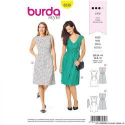 Patron Burda n°6239 : Robe