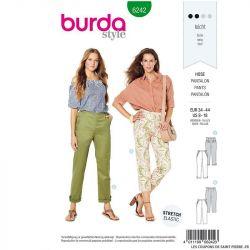 Patron Burda n°6240 : Robe à fermeture boutonnée