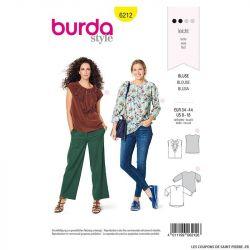 Patron Burda n°6242 : Pantalon avec une fermeture