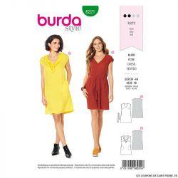 Patron Burda n°6221: Blouse sans manche