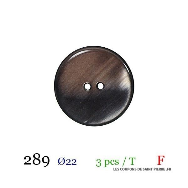 Tube 3 boutons Ø 22mm