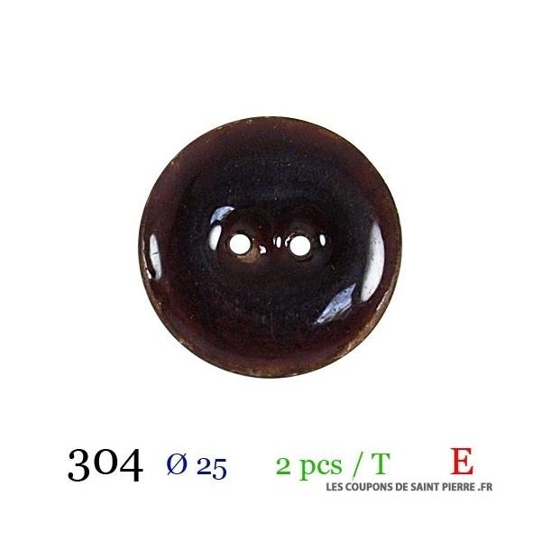 Tube 2 boutons Ø 25mm