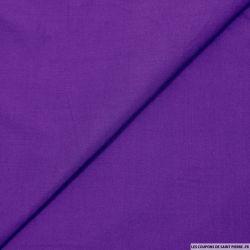 Popeline de viscose violet