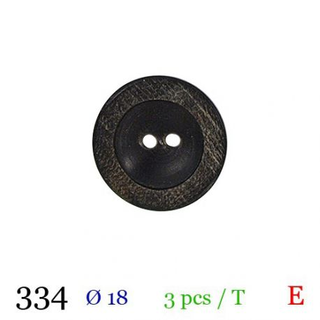 Tube 3 boutons Ø 18mm