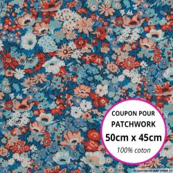 Coton liberty ® Thorpe Hill - Coupon 50x45cm