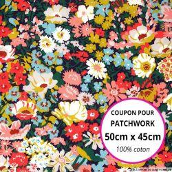 Coton liberty ® Thorpe - Coupon 50x45cm