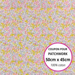 Coton liberty ® Wiltshire Aurore - Coupon 50x45cm