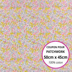 Coton liberty ® Wiltshire Aurore - Coupon 50x45cm