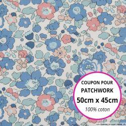 Coton liberty ® Betsy Asagao - Coupon 50x45cm