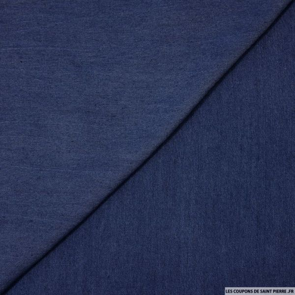 100% Tencel jeans foncé