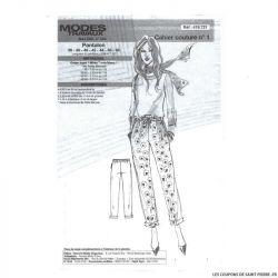 Patron Modes & Travaux Pantalon - Mars 2020 n°1432