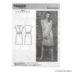 Patron Modes & Travaux Robe cache coeur - Avril 2020 n°1433