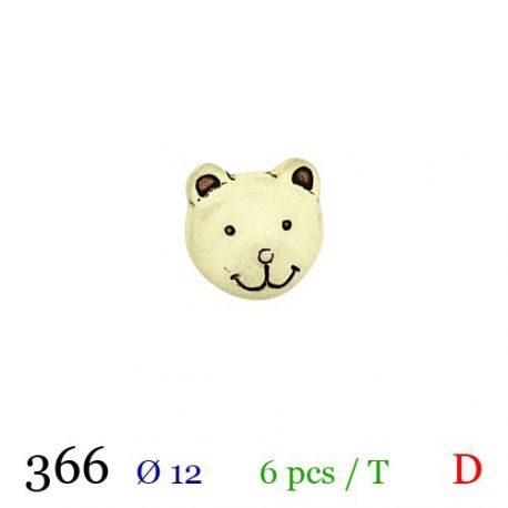 Tube 6 boutons Ø 12mm