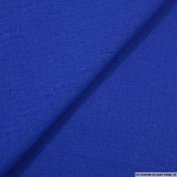 100% Lin lavé bleu roi
