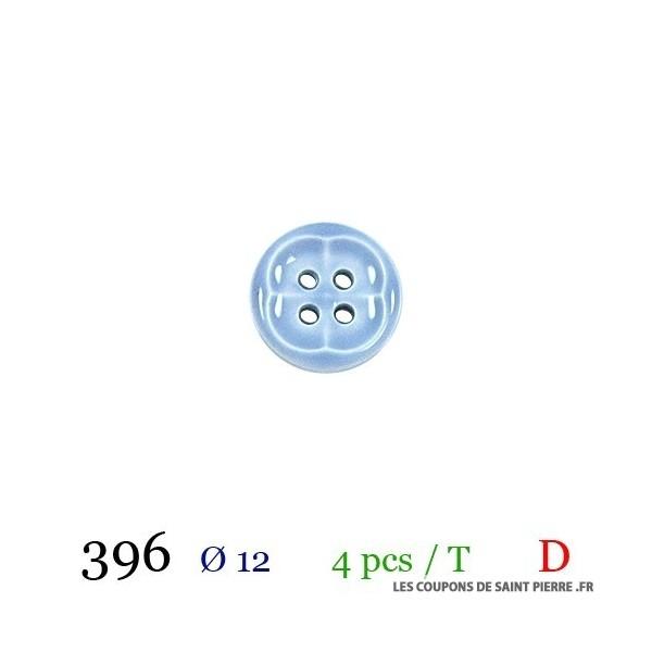 Tube 4 boutons Ø 12mm