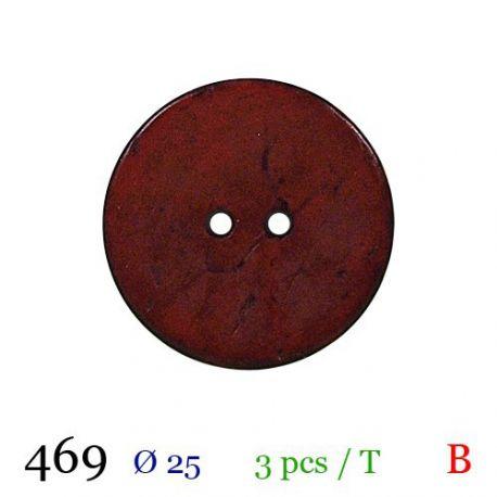 Tube 3 boutons Ø 25mm