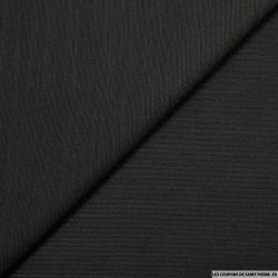 Jacquard coton élasthane fantaisie noir