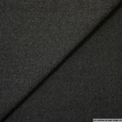 Jacquard chevrons polyester anthracite