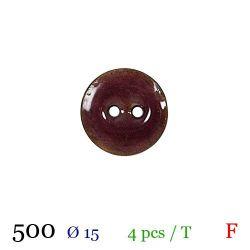 Tube 4 boutons rose Ø 15mm