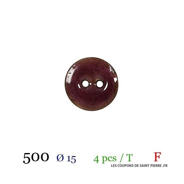 Tube 4 boutons Ø 15mm