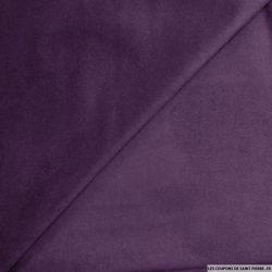 Chamoisine polyester violet foncé