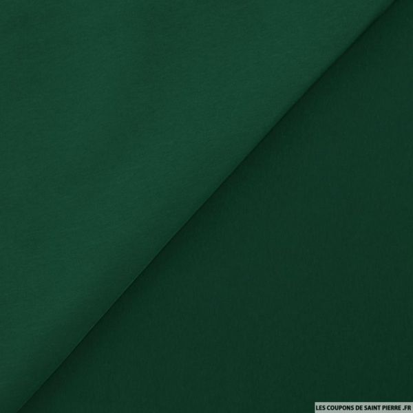 Microfibre polyester vert bouteille