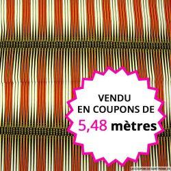 Wax africain backgammon, vendu en coupon de 5,48 mètres