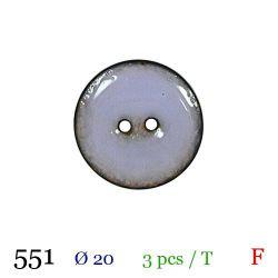 Tube 3 boutons mauve Ø 20mm