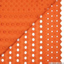 Broderie anglaise paradis orange