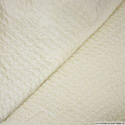 Polyester gaufré ivoire