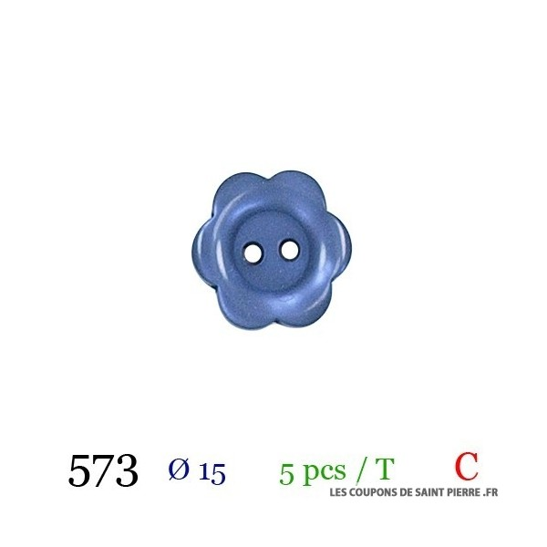 Tube 5 boutons Ø 15mm