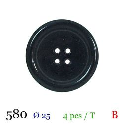 Tube 4 boutons marine Ø 25mm