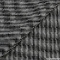 laine pied de puce gris