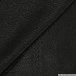 Tweed polyester noir