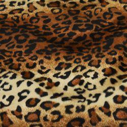 Tissus Fourrure Synthétique Jaguar