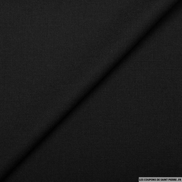 Lainage tailleur laine et mohair noir