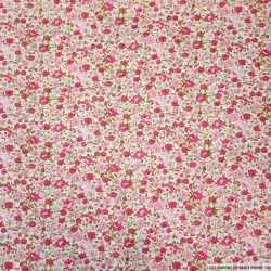 Coton imprimé comme on se retrouve rose
