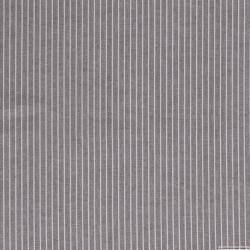 Lin viscose imprimé fines rayures blanc fond vert kaki