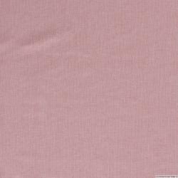 Lin viscose rayures fine rose clair