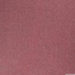 Lin viscose uni rouge