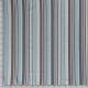 Lin viscose imprimé multi rayures aqua