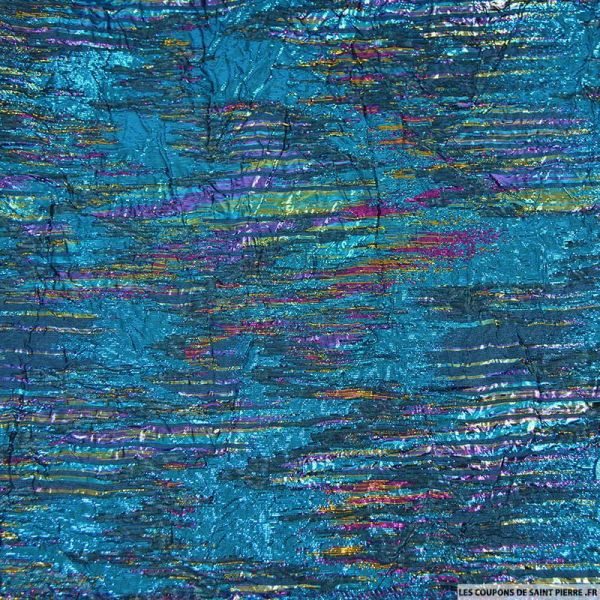 Brocart irisé polyester