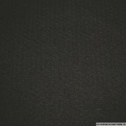 Jacquard coton élasthanne hexagone noir