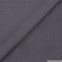 Voile peau de pêche polyester gris