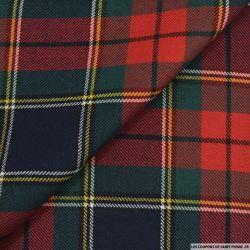 Tissu de laine écossais